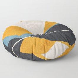Line Mountain Beauty II Floor Pillow