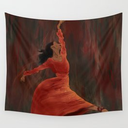 The Autumn Leaf Wall Tapestry