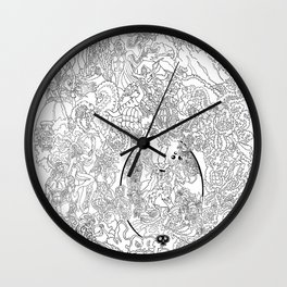 Other Worlds: The Kingdoms Wall Clock