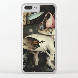 Hieronymus Bosch - The Garden of Earthly Delights Clear iPhone Case