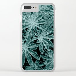 Raindrops III Clear iPhone Case