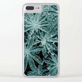 Raindrops III Clear iPhone Case