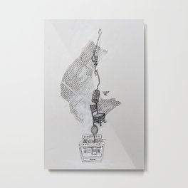 Dinah Metal Print