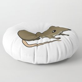 This Is My Human Costume I'm Really A Shrew Funny Halloween Floor Pillow