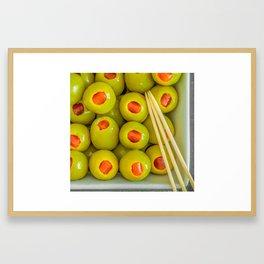 Stuffed Framed Art Print