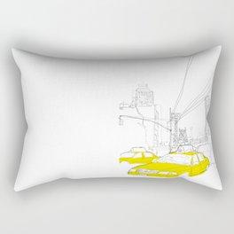Cross Town Traffic Rectangular Pillow