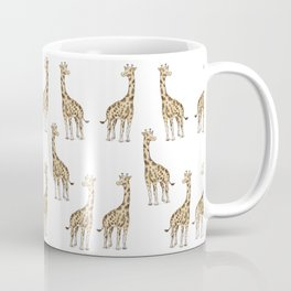 Giraffe Pattern Coffee Mug