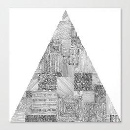 triangle Canvas Print