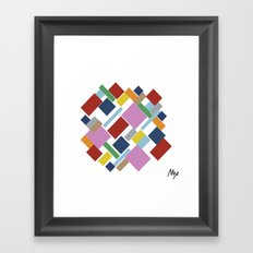 Abstraction #6 Framed Art Print
