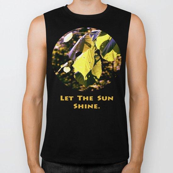 Let The Sun Shine Biker Tank