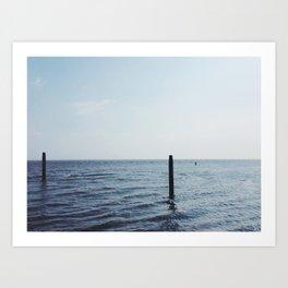 North Sea, The Netherlands Art Print