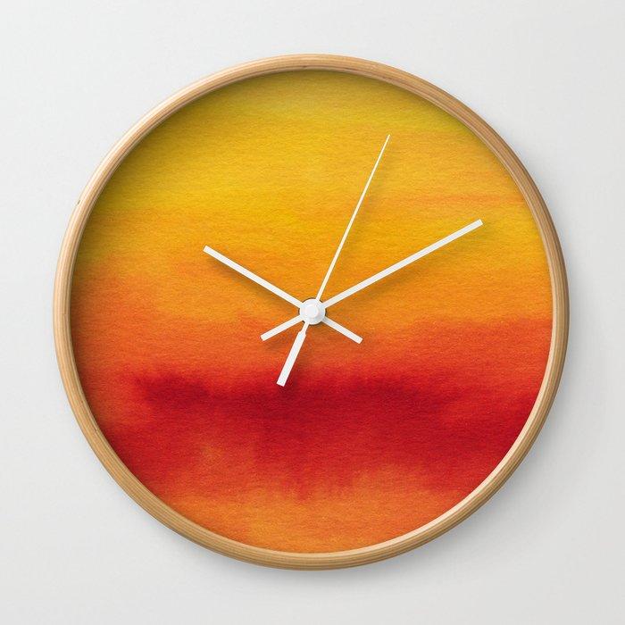 Abstract No. 185 Wall Clock