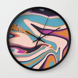 Marblized 7 Wall Clock