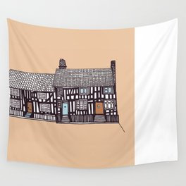 'Suffolk' House print Wall Tapestry