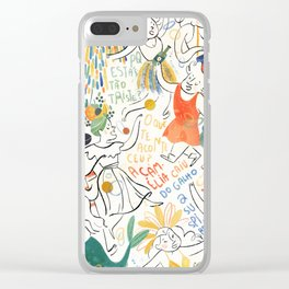 Carnaval Clear iPhone Case