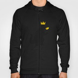 Jean-Michel Basquiat's Crown on Japanese Monster Hoody