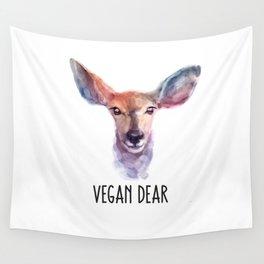 Vegan Dear Wall Tapestry