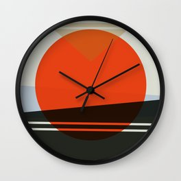 Abstract Composition 606 Wall Clock