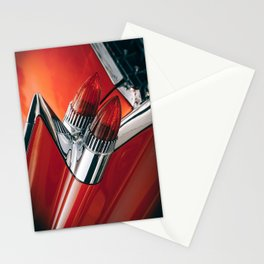 Vintage car phare Stationery Cards