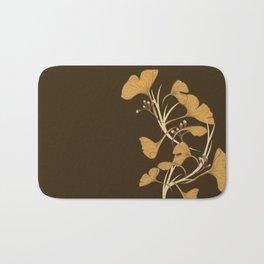 Gingko, Golden Life Bath Mat