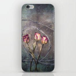 Trapped Roses iPhone Skin