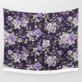 Rose pattern 3.1 Wall Tapestry