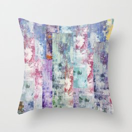Abstract 195 Throw Pillow