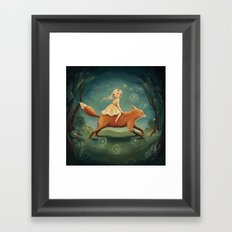 Fox Girl by Emily Winfield Martin Framed Art Print