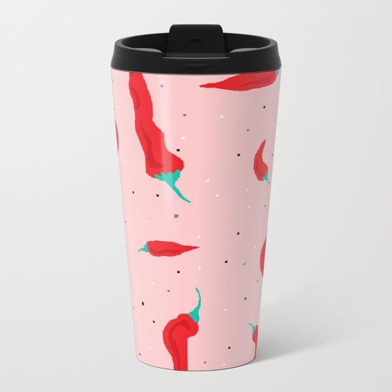 Chilli Metal Travel Mug