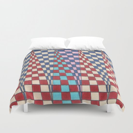 Up and Down Duvet Cover