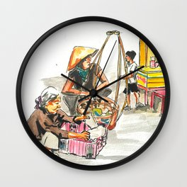 Hoi An Wall Clock