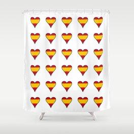 Flag of spain 6-spain,espana, spanish,plus ultra,espanol,Castellano,Madrid,Barcelona Shower Curtain