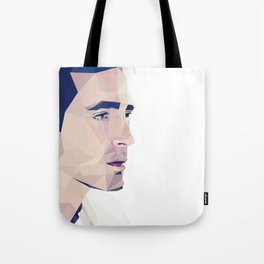 Lee Pace - Low Poly Tote Bag