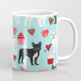 French Bulldog cupcakes valentines love hearts cute frenchie must have gifts Coffee Mug