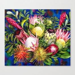 Protea Bounty Canvas Print