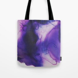 Violet Aura Tote Bag