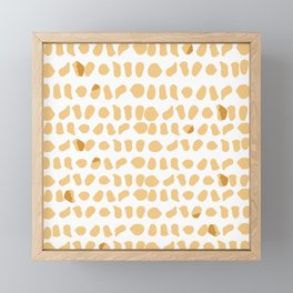 Chicken Nuggets are the New Leopard Print Framed Mini Art Print