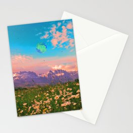 Earth Energy Stationery Cards