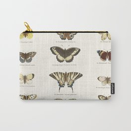 Vintage Butterfly Chart Tasche