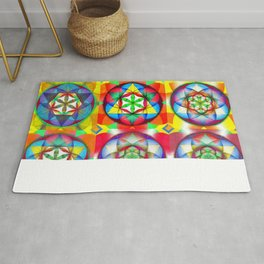 Three Six Nine - The Sacred Geometry Collection Rug