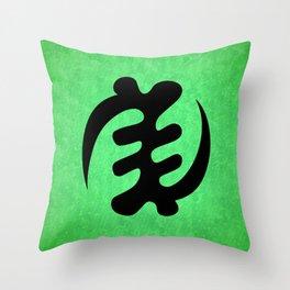 Gye Nyame - Adinkra Art Poster Throw Pillow