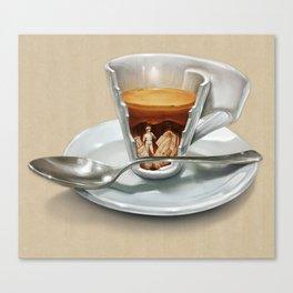 Italian coffee 2.0 Canvas Print