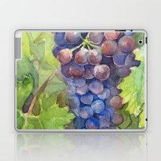Grapes Watercolor Fruit Food Wine Lovers Laptop & iPad Skin