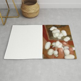 Mullberry Silkworm Cocoons Rug