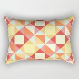 Autumn Breeze Triangle Pattern Rectangular Pillow