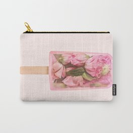 FLORAL POPSICLE Carry-All Pouch