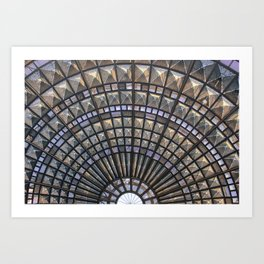 Union Station Window Art Print
