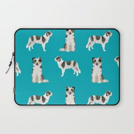 Border Collie dog breed gifts collies herding dogs pet friendly Laptop Sleeve
