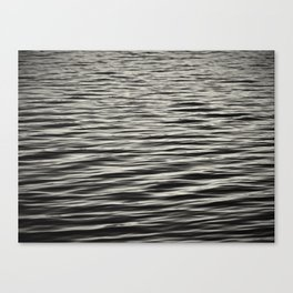 Waiting for the next wave   surf life Canvas Print
