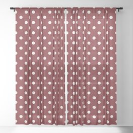 Polka Dots Sheer Curtain